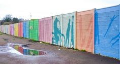 Coloured Wall... by TRM-photography.co.uk, via Flickr