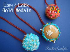 Easy Edible Gold Medals