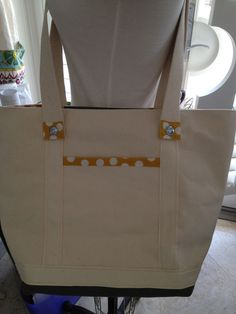 canvas tote bag natural with crossbody strap