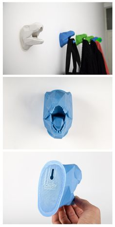 Alan Nguyen - Low poly Dino Cube hanger 3D print