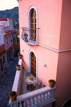 Castelmola, province of Messina Sicily, Italy