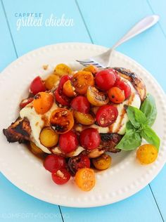 Caprese Grilled Chicken | The Comfort of Cooking