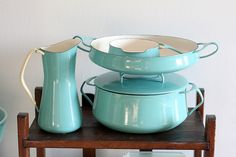 Dansk Kobenstyle.  Would love all the pieces.  I have the paella pan in this color and cobalt.