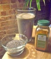 nutiva.com - Looking for chia seed uses? Check out this Chia Hemp Protein Drink! #chia #hemp #protein #shake #smoothie