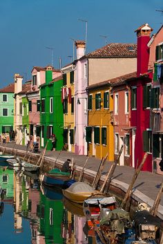 The Colors of Burano, Italy