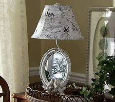 Beautiful lamp. Valerie Parr Hill.