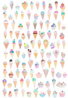 ice cream, ice cream, ice cream