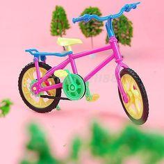 Detachable Mini Bicycle Bike Toy for Barbie Pullip Jenny DOLLS HOUSE MINIATURE