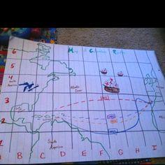 map, social studi