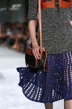 Crochet skirt: Proenza Schouler Spring 2015