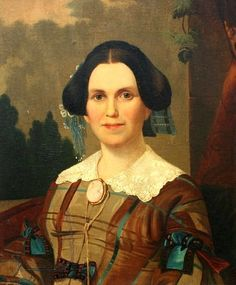 Margaret Taylor, American First Lady married to President Zachary Taylor.   Dreading the publicity of the White House, Mrs. Taylor delegated hostess duties to her daughter, Mary Elizabeth.  Mrs. Taylor welcomed family and friends in her upstairs sitting room and only left the White House to go to church.  After President Taylor died while in office, she never spoke of the White House again.