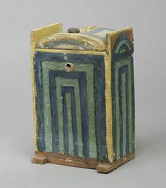 Shabti box of Khabekhnet,New Kingdom  Ramesside. Dynasty 19,reing of Ramesses II,ca 1279-1213 BC  Egypt Thebes