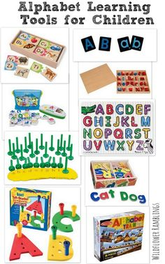 Alphabet Learning Tools and other essential tools for preschool!  - Wildflower Ramblings #preschool preschool