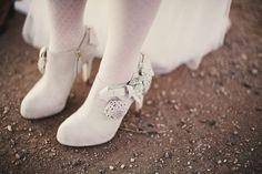 Bridal Booties