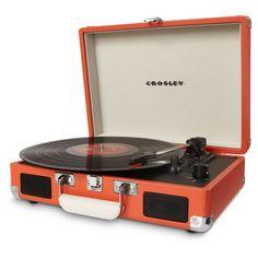 Crosley Cruiser Turntable in Orange