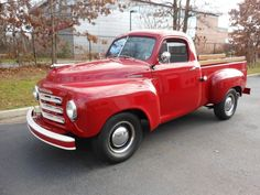 1951 Studebaker 2R5 pickup truck....love the family car name and this truck!