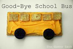 School Bus snack