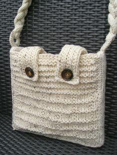 tasjes/ purses - patronen voor de knifty knitter