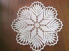 Crochet Doily Crochet Doilies White Crochet by CrochetMiracles, $15.90