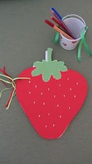 strawberry guest book