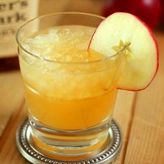 bourbon and apple cider