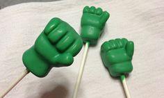 How to make Hulk cake pops - Free cake pop tutorial on Craftsy.com!