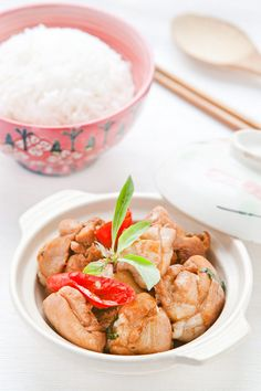 -Three Cup Chicken Taiwanese Recipe