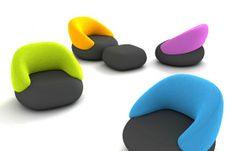 PUMPY - upholstery set by Redo Design Studio