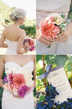 Tuscan inspired wedding colors