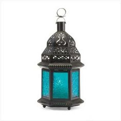 moroccan lantern, glasses, blue glass, glass moroccan, candle holders, hous, homes, lanterns, blues