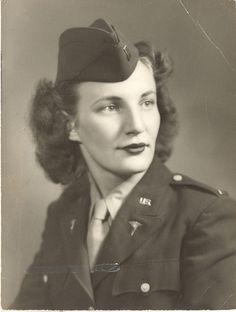 A 2nd Lt. Army Nurse.
