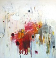Michelle Treton. Thierry B. Gallery galleri, abstract artwork, art geek, inspir, watercolor idea, paint, abtract art, beauti art, bright colors