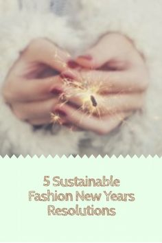 5 New Year Sustainab