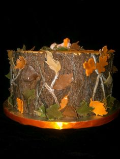 mossy oak camo cake :). Buttercream w/ fondant accents.