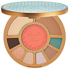 Try out a waterproof makeup palette by Tarte. Perfect for the beach!