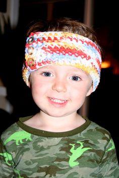 Children's Headband by MotherTuckerDesigns on Etsy