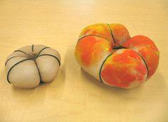 sock, pumpkin crafts, 3d pumpkin