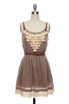 sea shell dress