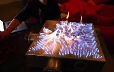 Danish Scientists Create Fire-Responsive Visualizer (In The Key Of Dubstep)