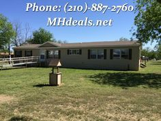 """Residing in Lampasas, TX on .80 acres, this 2,016 square feet . 3 bed 2 bath. Centrally located, this home is in a great location. It is only minutes from town. In the master bathroom you will have a large 60"""" Garden tub and separate shower. The home has many luxuries such as a separate laundry room, pantry, skylight, Walk-in Closets. The home has had some refurbishment such as a large deck, new carpet, new paint, recently remodeled, vinyl flooring. (210)-887-2760  LIC 36155"""