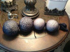 diy wool dryer balls