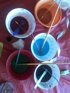 Edible, Scratch, and Sniff Watercolors- A Sensory Art Activity