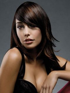 180-Degree haircut style is best known as the shag most often used for people with long hair. Brunette Layers