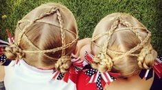 Utah twins' intricate hairstyles catch international attention
