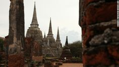 Phra Si Sanphet Temple - About 50 years ago, a group of robbers stole gold from this ancient Thai temple, and were subsequently cursed. Stories about the thieves' gruesome deaths remain part of local lore. thai templ, haunt place, amaz place