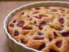 Strawberry Tart Cake - On Sugar Mountain