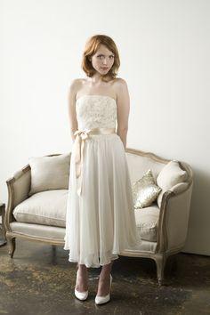 Romantic Bridal Gown.  Love it!