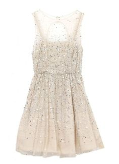 A cute and sparkly party dress