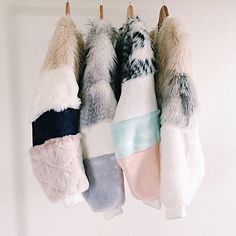 FAUX fur feathers se