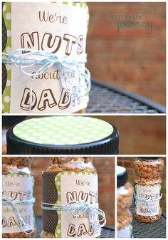 A Step in the Journey: We're NUTS about you! {Father's Day}